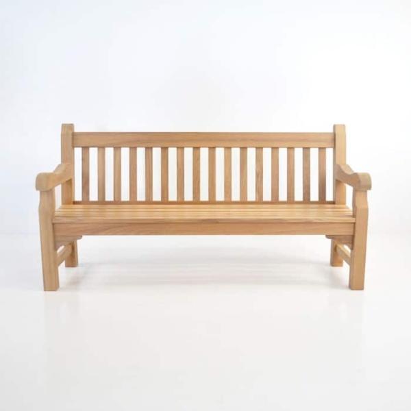 Oxford Teak Outdoor Bench (4 Seat)-1477
