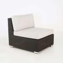 Paulo Outdoor Wicker Sectional Center (Java)-0