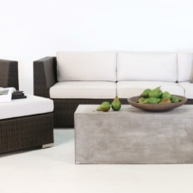 Paulo Java Wicker Sofa, Chair and Ottoman