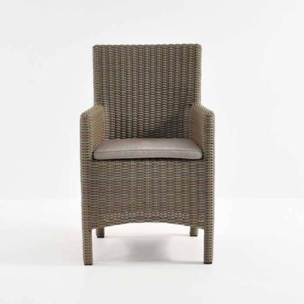 Petra Wicker Dining Arm Chair (Kubu)-489