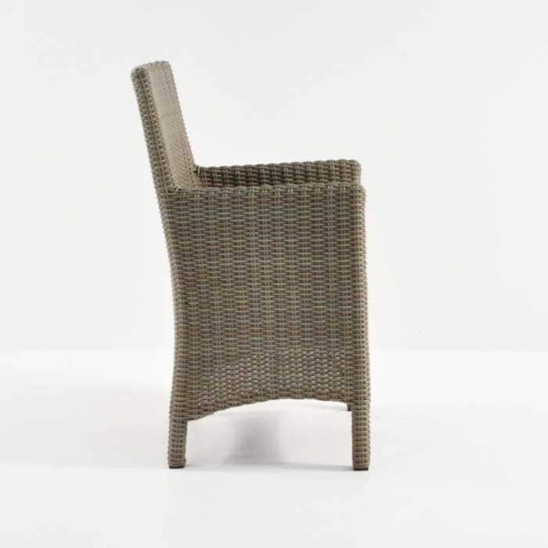 Petra Wicker Dining Arm Chair (Kubu)-487