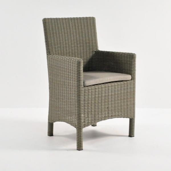 Petra Wicker Dining Arm Chair (Kubu)-0