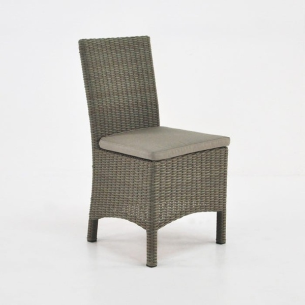 Petra Wicker Dining Side Chair (Kubu)-0