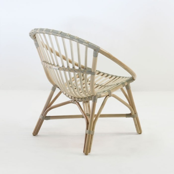 ... indoor lounge chair rattan. ""
