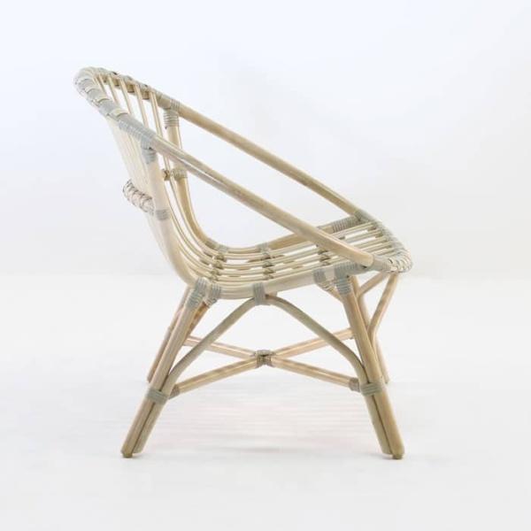 indoor rattan chair side