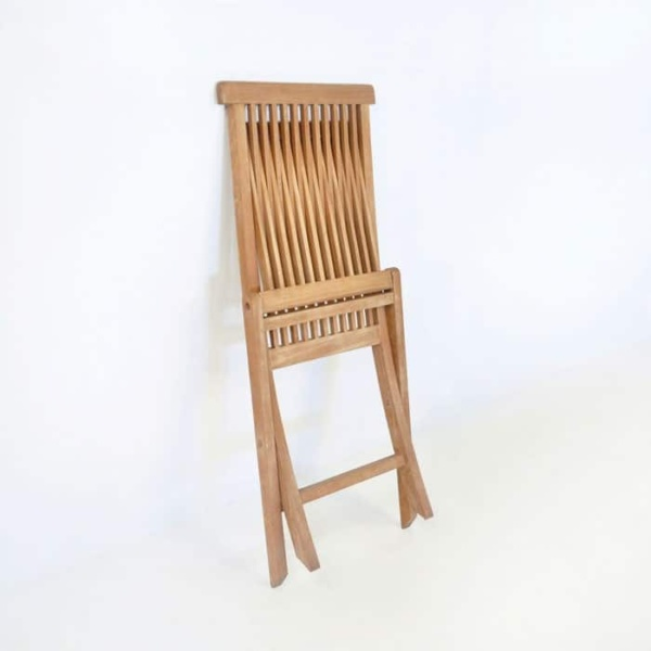Prego Teak Folding Dining Chair-494