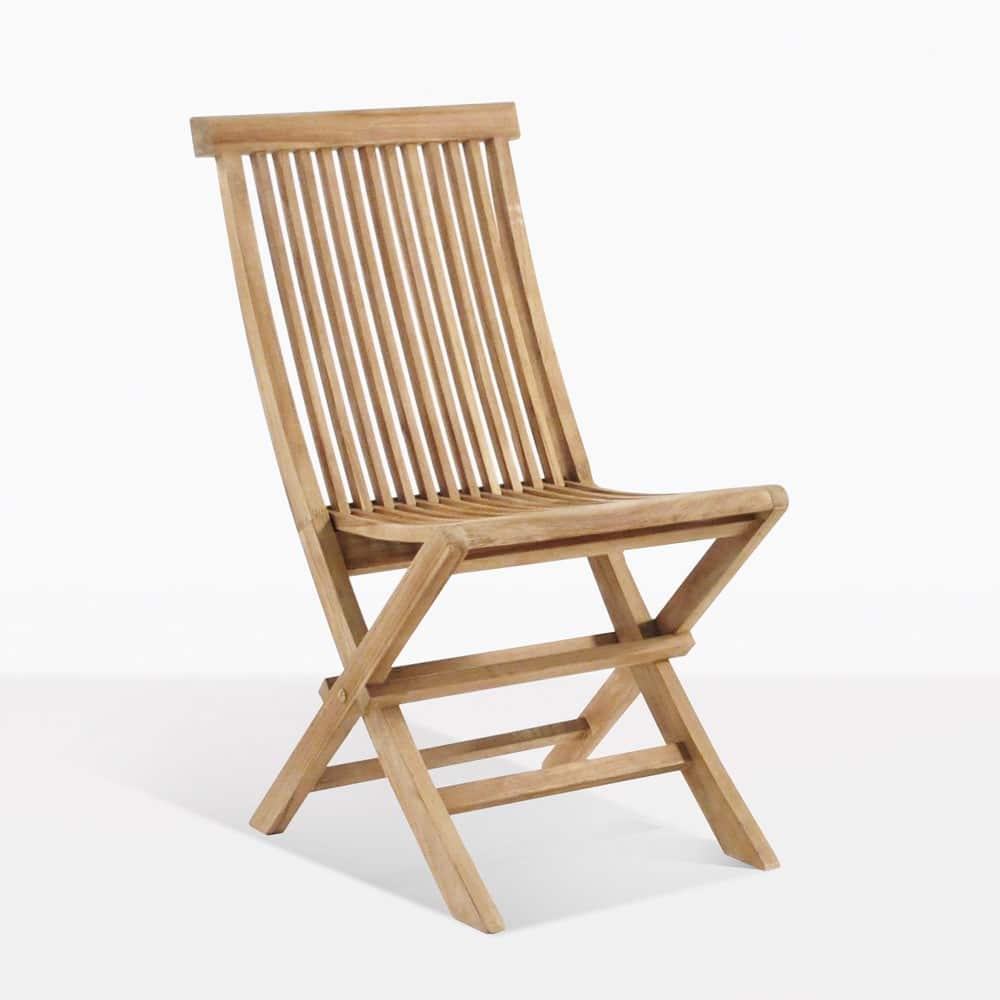 Prego Teak Folding Dining Chair Design Warehouse Nz