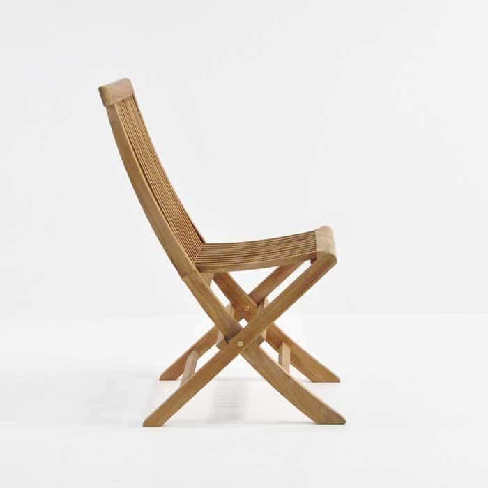 Prego Teak Folding Dining Chair-493