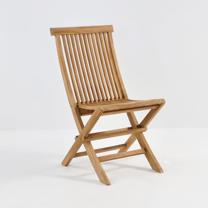 Prego Teak Folding Dining Chair-0