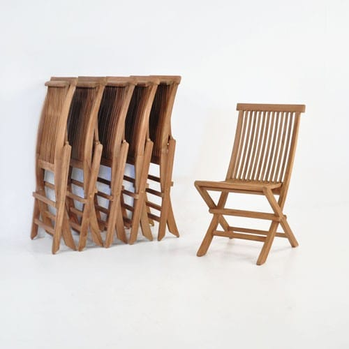 Prego Teak Folding Dining Chair-492
