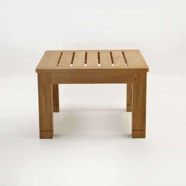 raffles teak side table