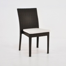 Romansa Wicker Dining Side Chair (Java)-0