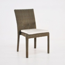 Romansa Wicker Dining Side Chair (Kubu)-0
