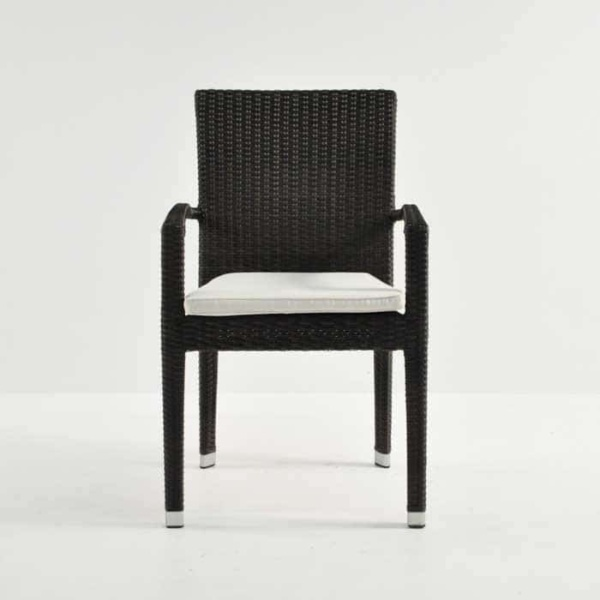 Romansa Wicker Dining Arm Chair (Java)-499