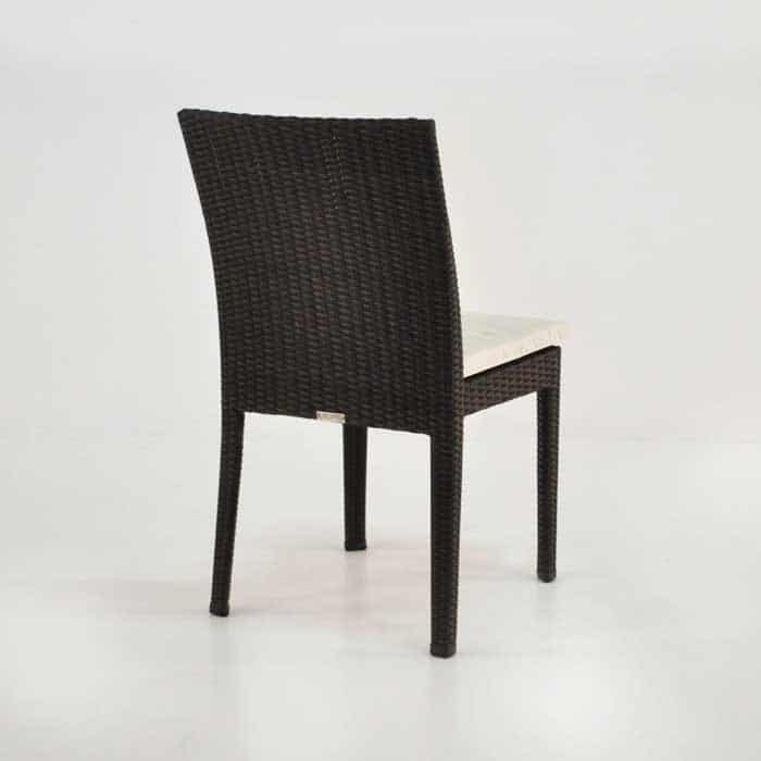 Romansa Wicker Dining Side Chair (Java)-510