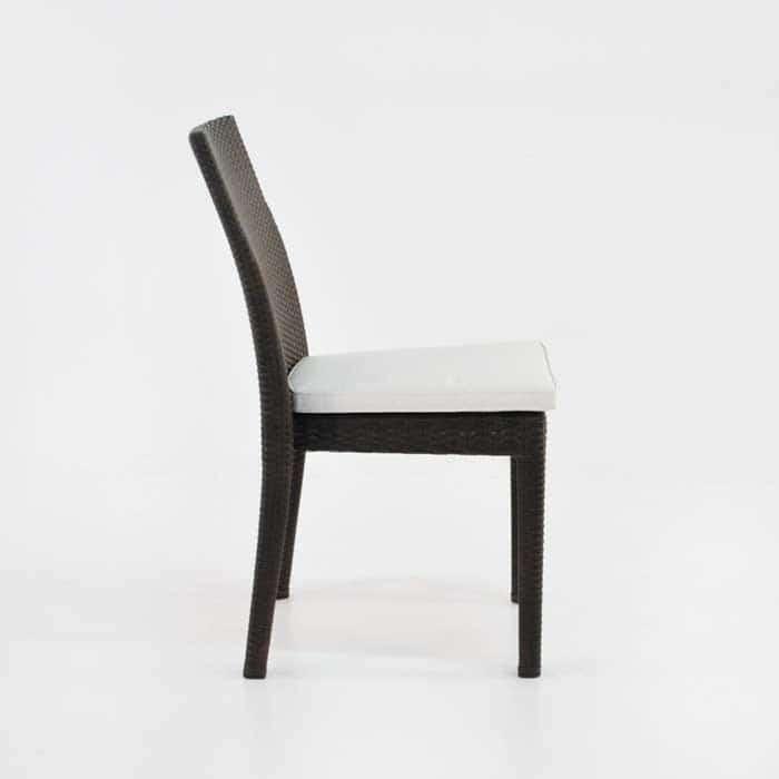 Romansa Wicker Dining Side Chair (Java)-509