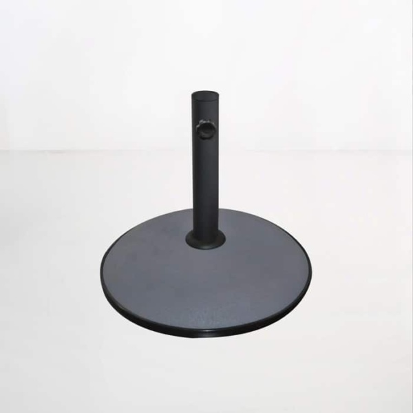 Round Concrete Umbrella Base