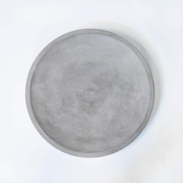 BLOK Round Concrete Dish-884