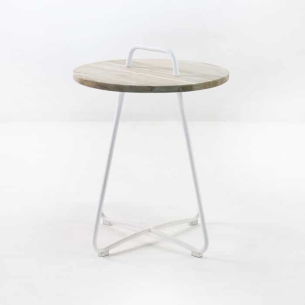 Samba Side Table Drift (White)-854