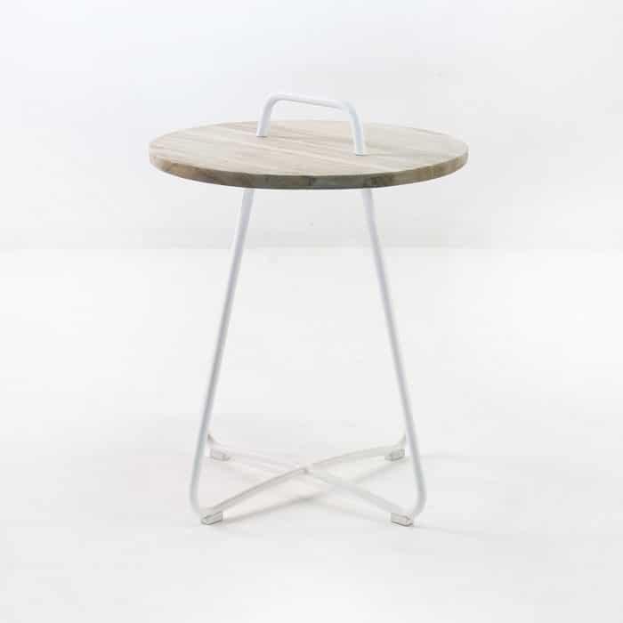 Samba Side Table Drift (White)-854
