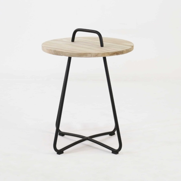 Samba Side Table Drift (Black)-844