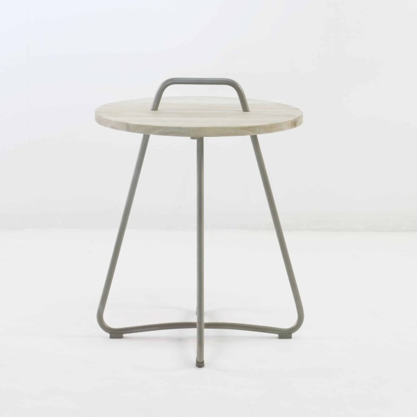 Samba Side Table Drift (Taupe)-848