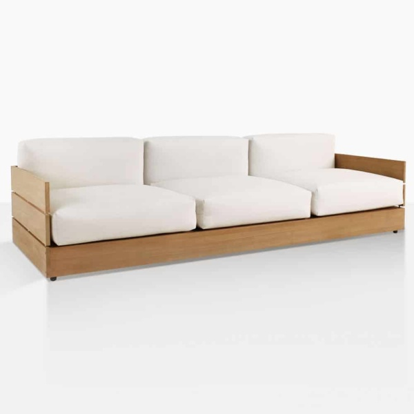 soho sofa teak angle