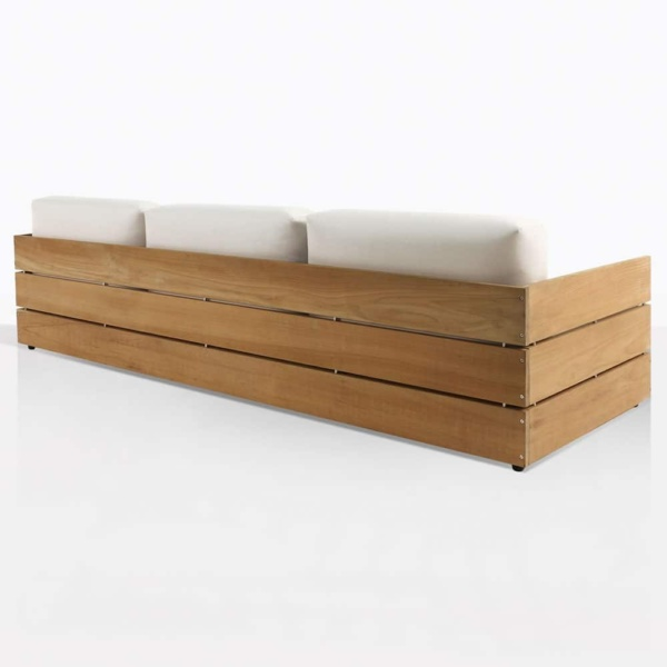 soho teak sofa back