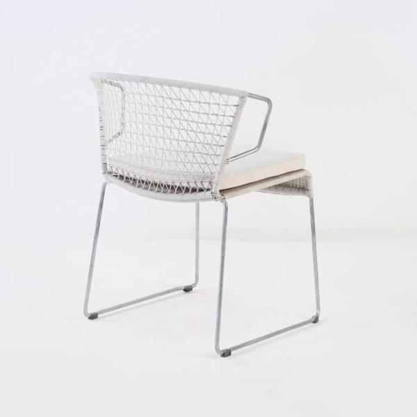Sophia Modern Dining Chair (Chalk)-525