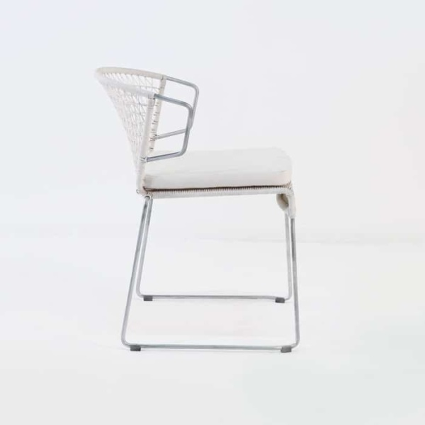 Sophia Modern Dining Chair (Chalk)-527