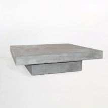 Blok Square Concrete Coffee Table-0