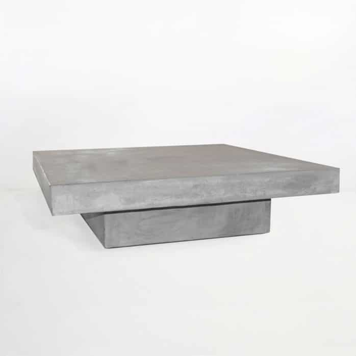 Blok Square Concrete Coffee Table 0