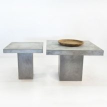 Blok Square Concrete Dining Tables -0