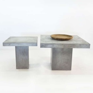 Blok Square Concrete Dining Tables -0