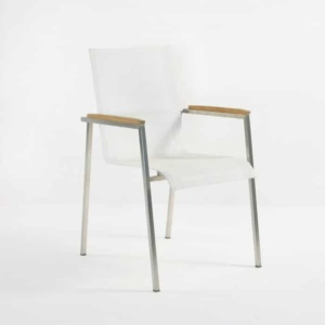 Summer Stacking Dining Chair (White)-0