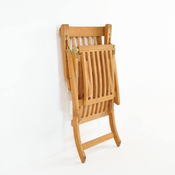 Normal Teak Steamer Chair-948