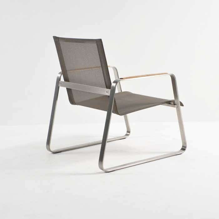 Summer Stainless Steel Batyline Relaxing Chair (Taupe)-1297