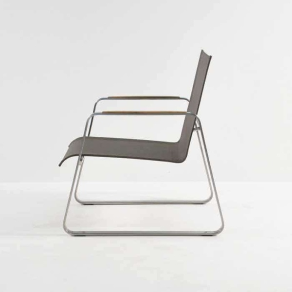 Summer Stainless Steel Batyline Relaxing Chair (Taupe)-1296