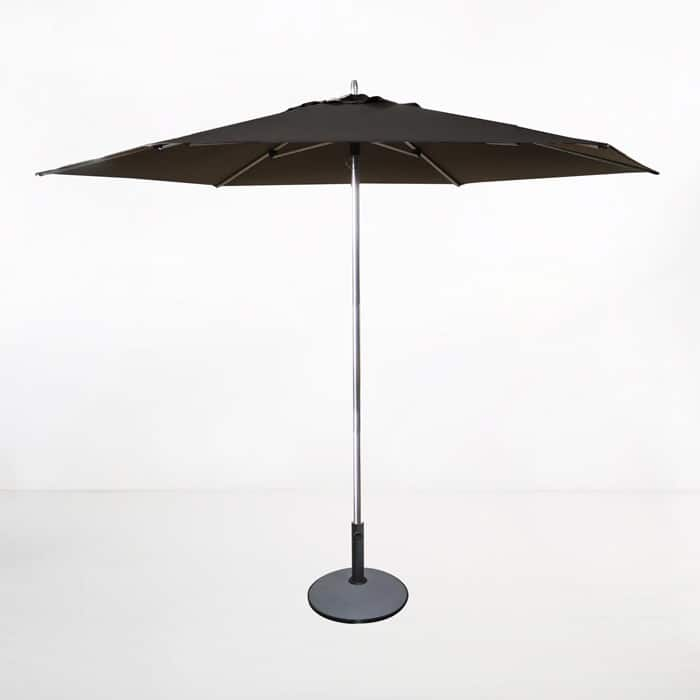 Tiki Round Patio Umbrella (Black)-0