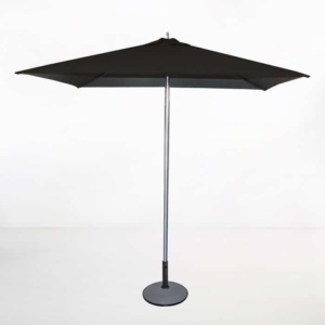 Tiki Square Patio Umbrella (Black)-0