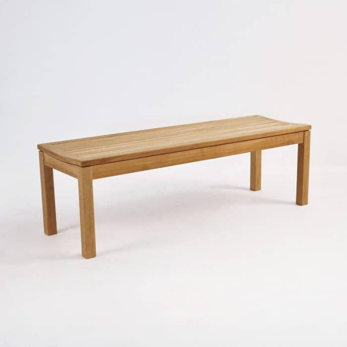 Toscana Teak Backless Outdoor Bench-0