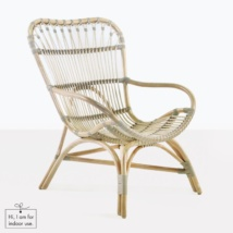 rattan indoor lounge chair