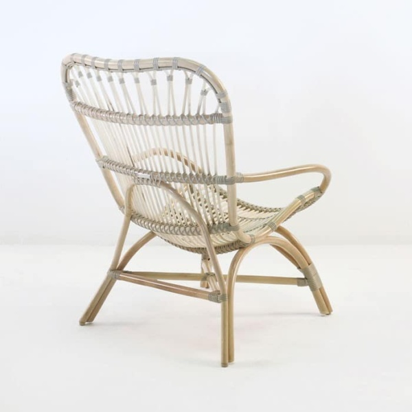 indoor lounge chair rattan