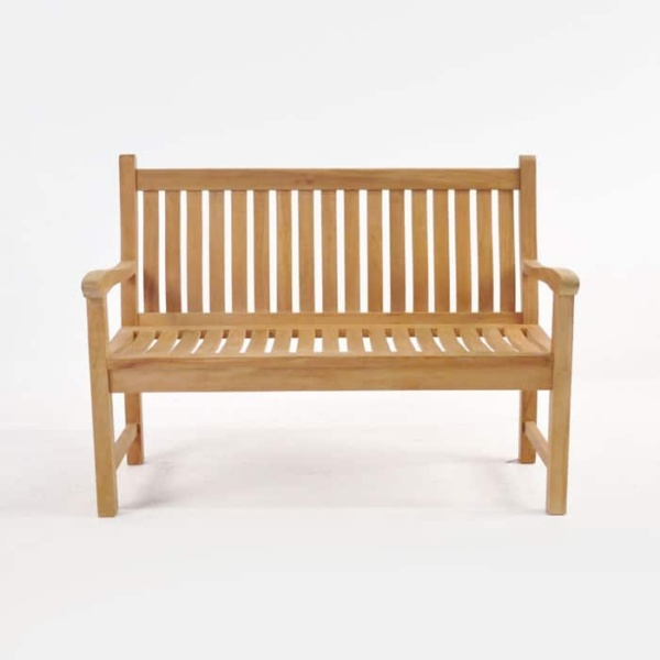 outdoor bench for 2 people