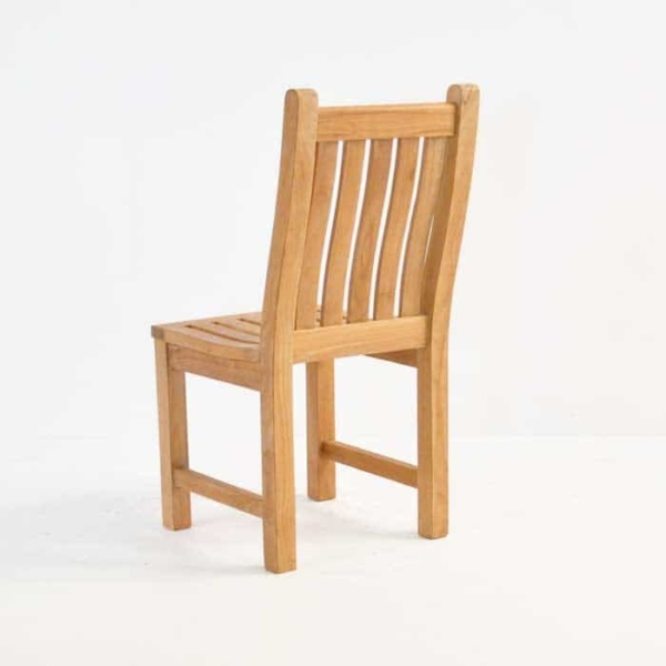 Wave Teak Dining Side Chair-571