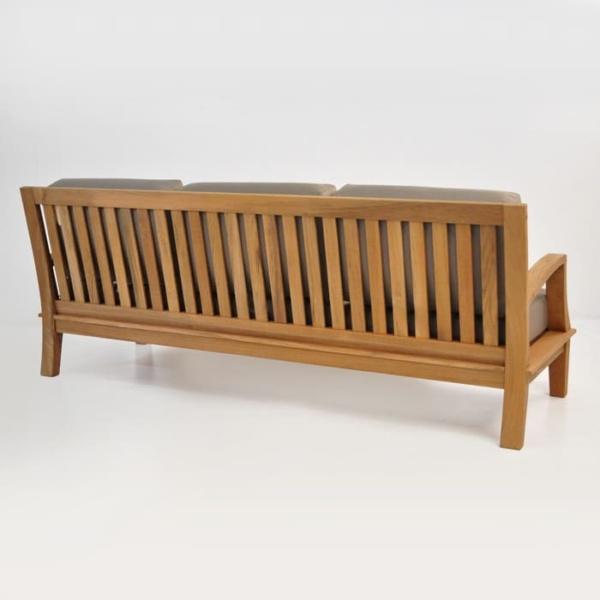 westminster teak sofa rear view