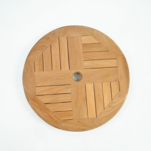 Teak Windmill Lazy Susan-895