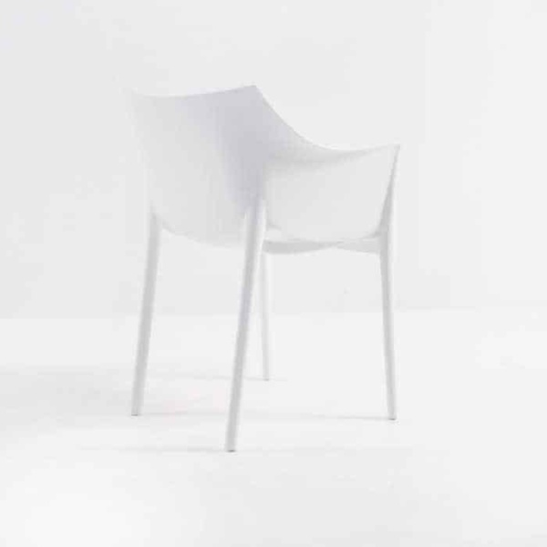 Wing Outdoor Chair in Polypropylene (White)-577
