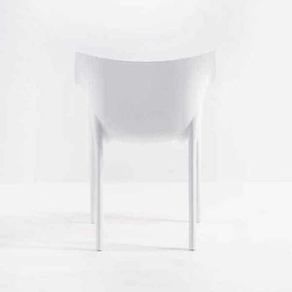 Wing Outdoor Chair in Polypropylene (White)-576