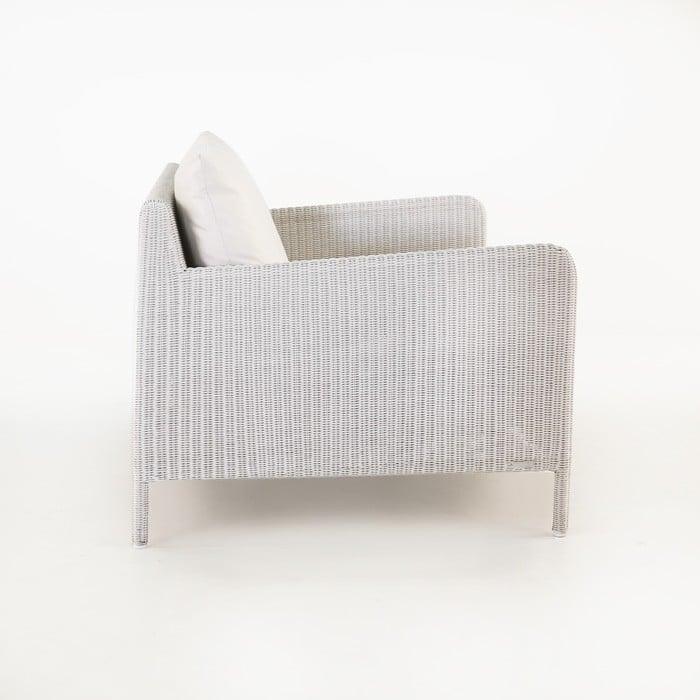Zambezi Outdoor Wicker Club Chair (Chalk)-752